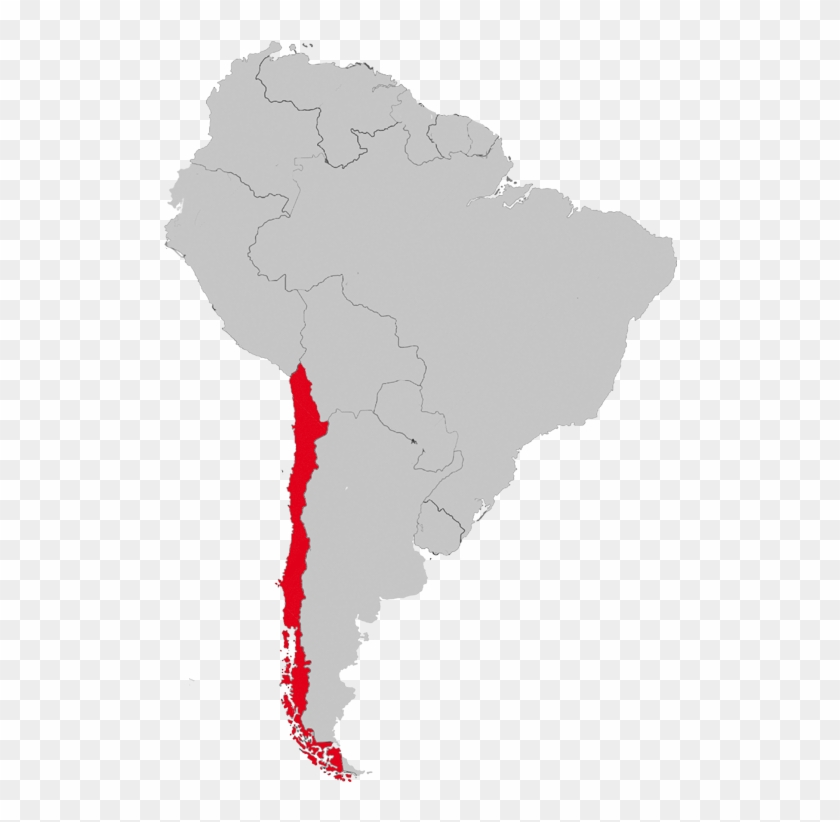 South America Chile Map Countries Of South America And Capital Clipart 1670908 Pikpng