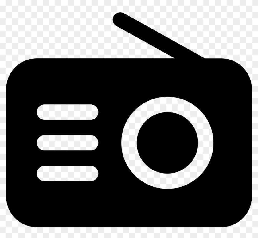 Svg Transparent Stock Radio Black Tool Icon Free Download - Icone Radio Clipart #1678017