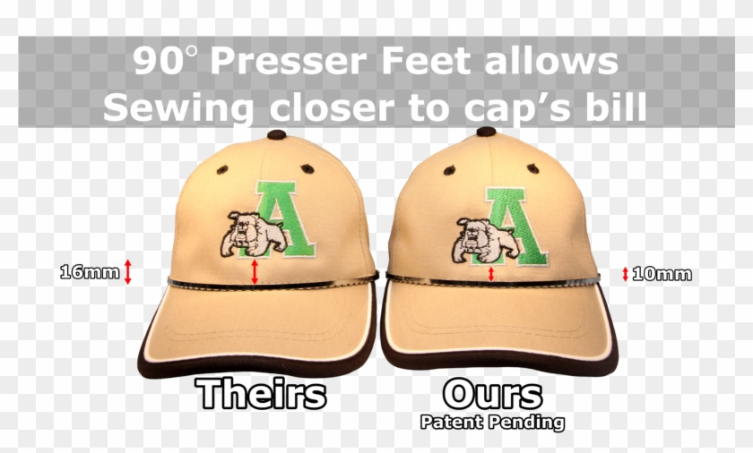 The 90 Degree Presser Foot System, Along With The Re-positioning - Get Your Copy Today Clipart #1681399