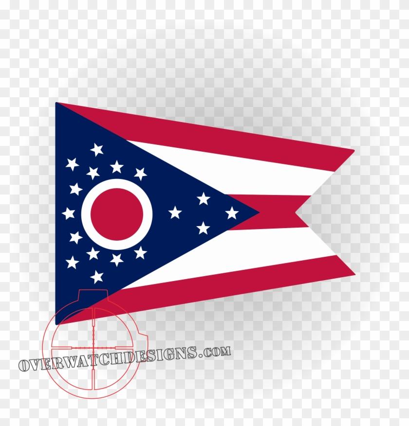 Ohio Flag - Printable Ohio State Flag Clipart #1684979
