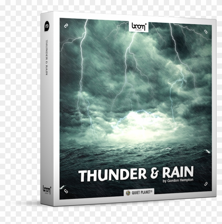 Thunder And Rain Nature Ambience Sound Effects Library - Let's Talk About Life Quotes Clipart #1696763