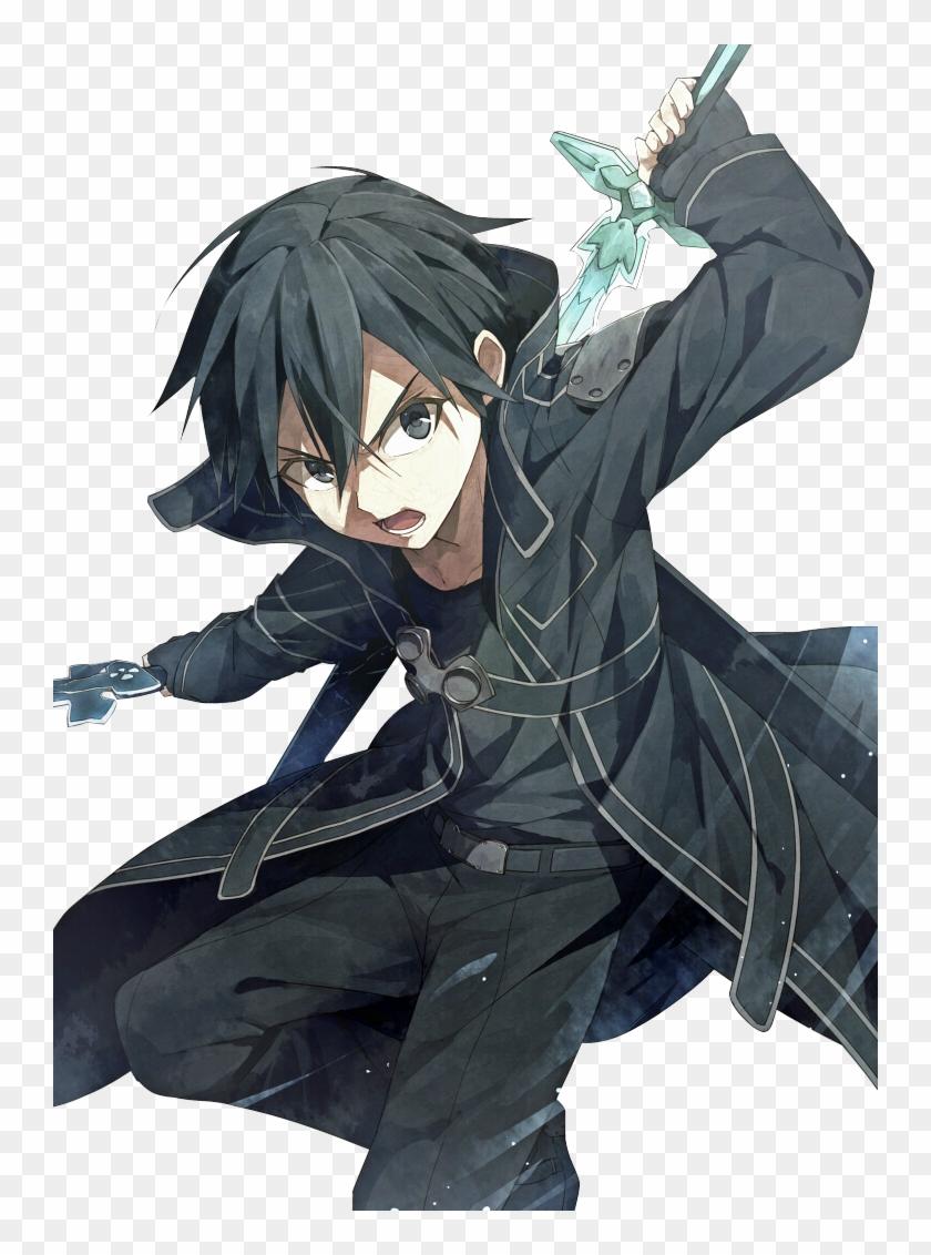 Sword Art Online Kirito Fanart Png Download Sao Kirito Clipart 1697782 Pikpng