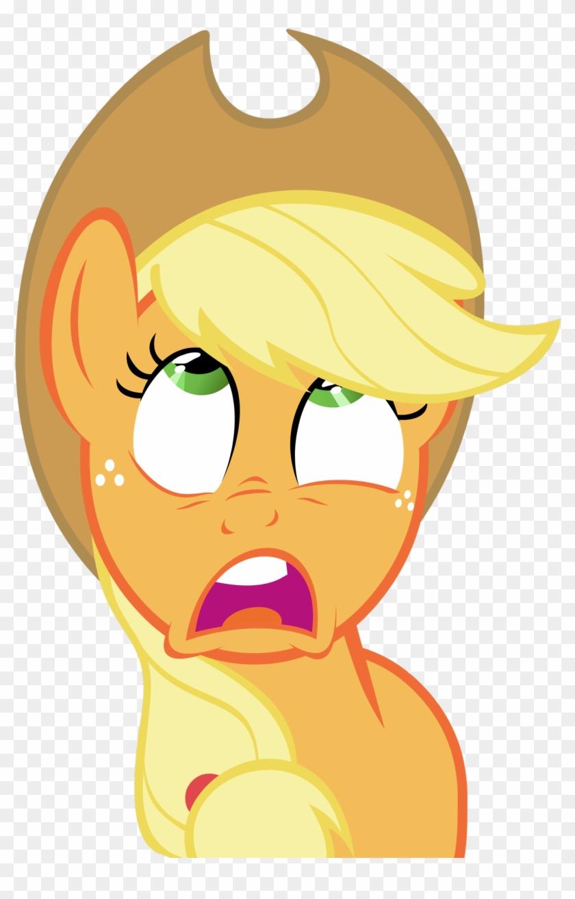 Applejack Patrick Star Fluttershy Know Your Meme - Patrick Face Meme Clipart #170331