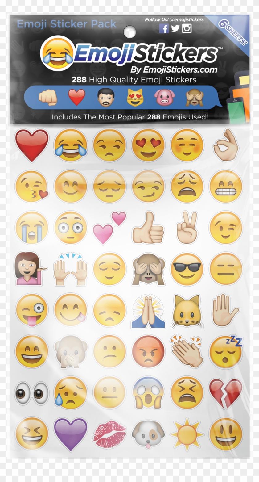 Emoji Stickers Clipart #170457
