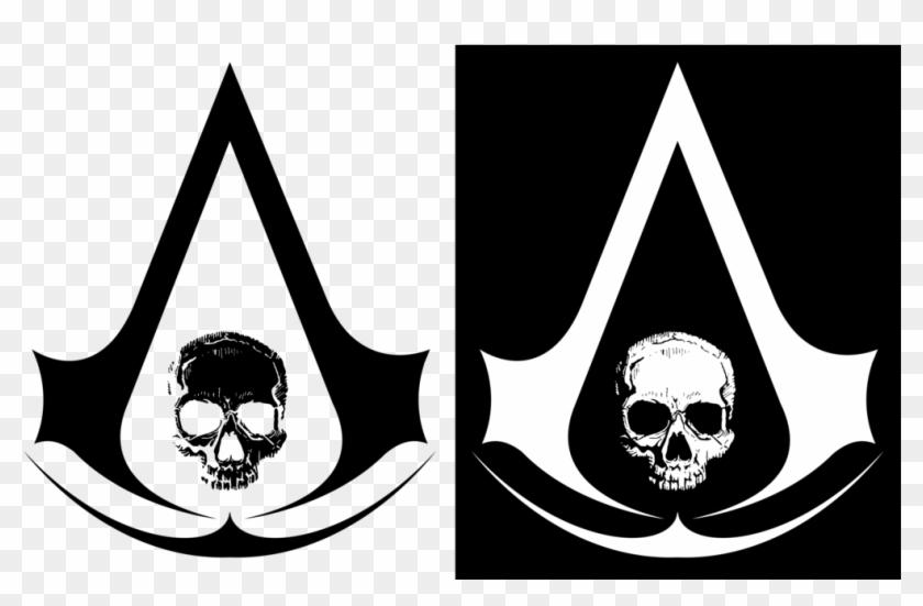 Assassins Creed Black Flag Skull Logo By Ervin Jacobi Assassins