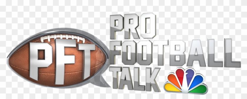 Pro Football Talk Shows Nbc Sports Pressbox - Nbc Sports Pro Football Talk Logo Clipart #172669