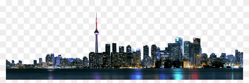 Toronto City Skyline Png Image - Toronto Clipart #175231