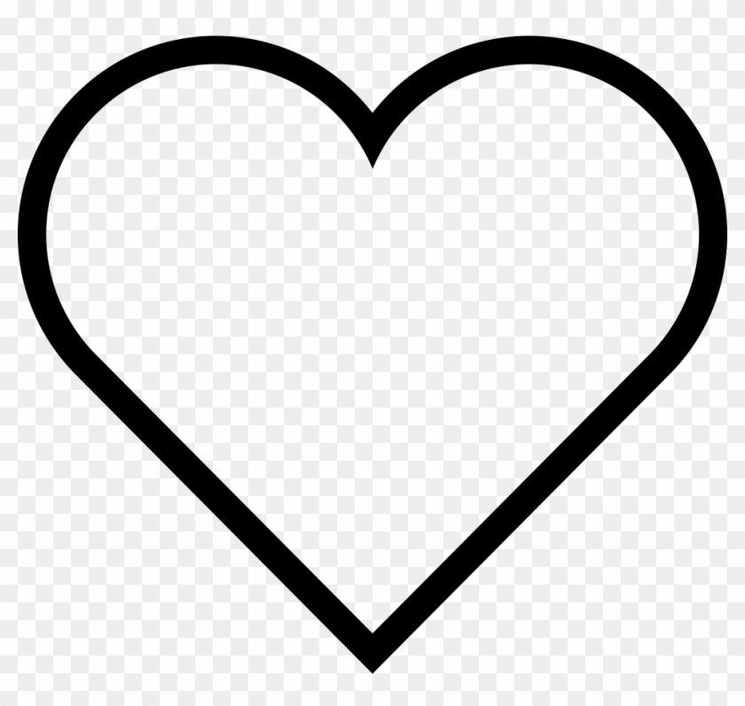 980 X 884 7 - Heart Emoji Coloring Page Clipart #175285