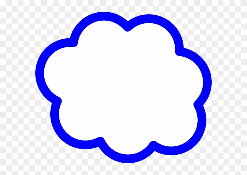 Blue Cloud Svg Clip Arts Download - Cloud Clip Art - Png Download #176333