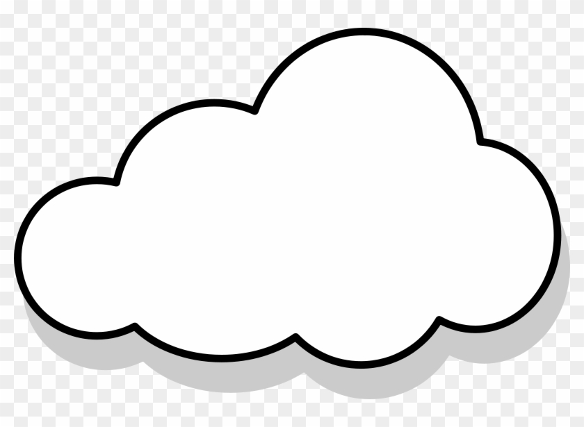 Cloud Clipart Png - Transparent Background Cloud Clip Art #176384