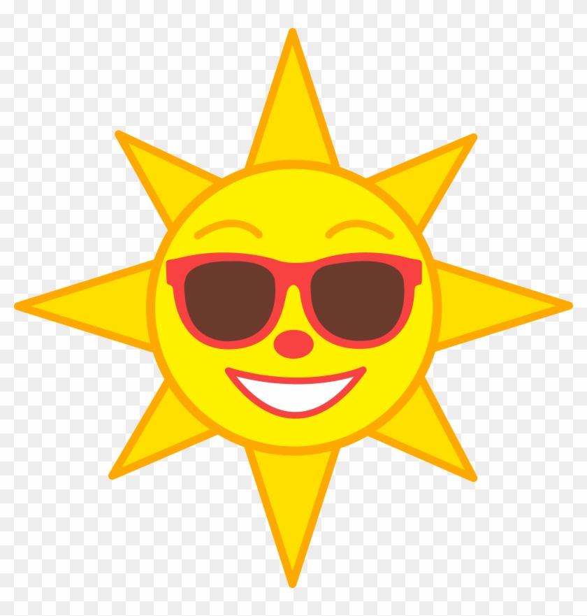 Cartoon Sun Photos - Sun With Sunglasses Clip Art - Png Download #178829