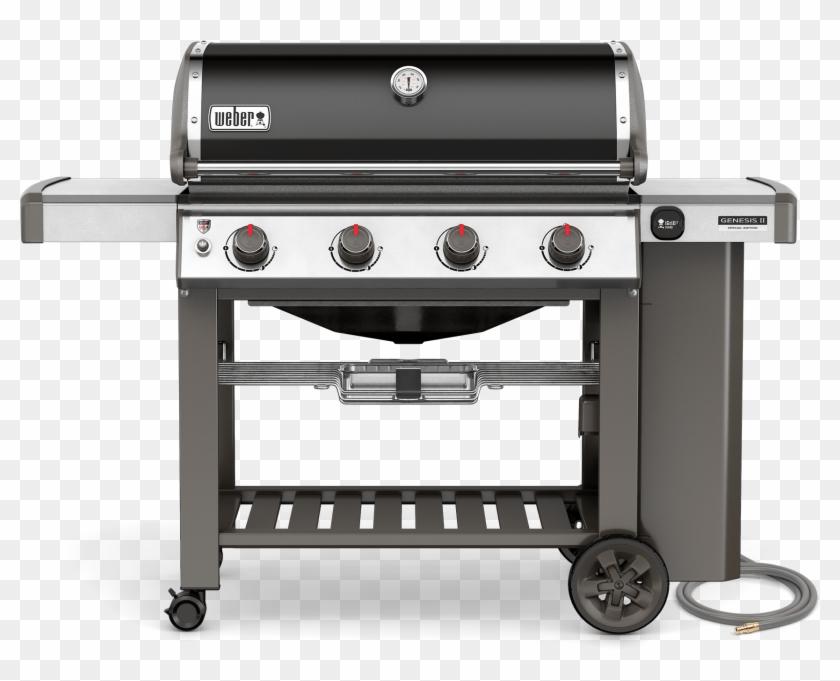 Genesis® Ii Se-410 Gas Grill - Weber Genesis 2 E410 Clipart #1704266