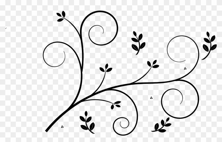 24 Cliparts For Decorative Drawings Flower Border Design Simple Png Download 1708671 Pikpng