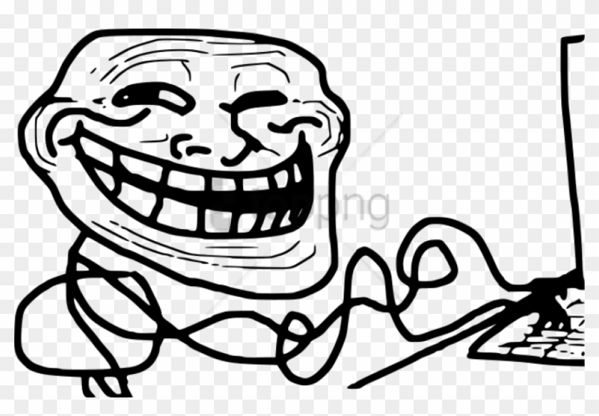 Free Png Download Computer Troll Png Images Background - Moving Pictures Troll Face Clipart #1709778