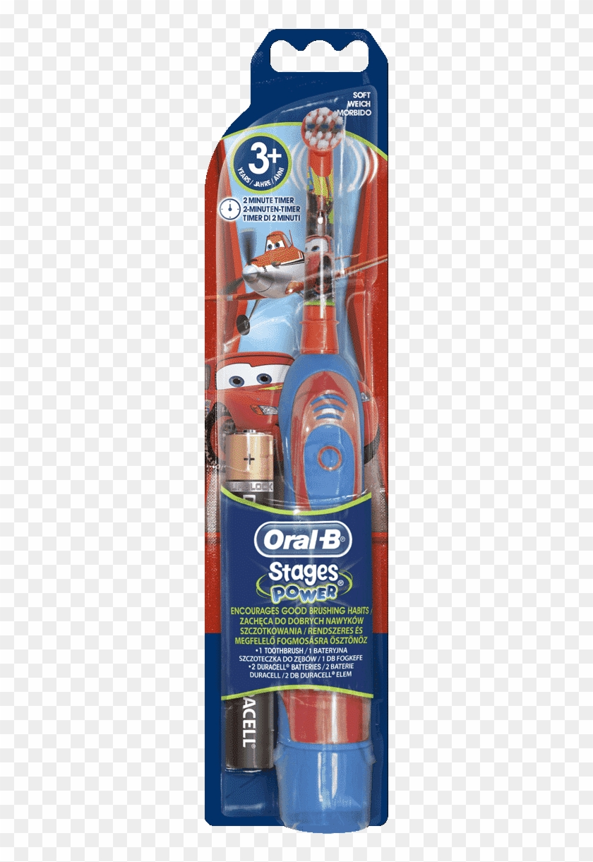 Oral-b Stages Power Kids Battery Toothbrush Featuring - Oral B Stages Power Cars Clipart #1722431