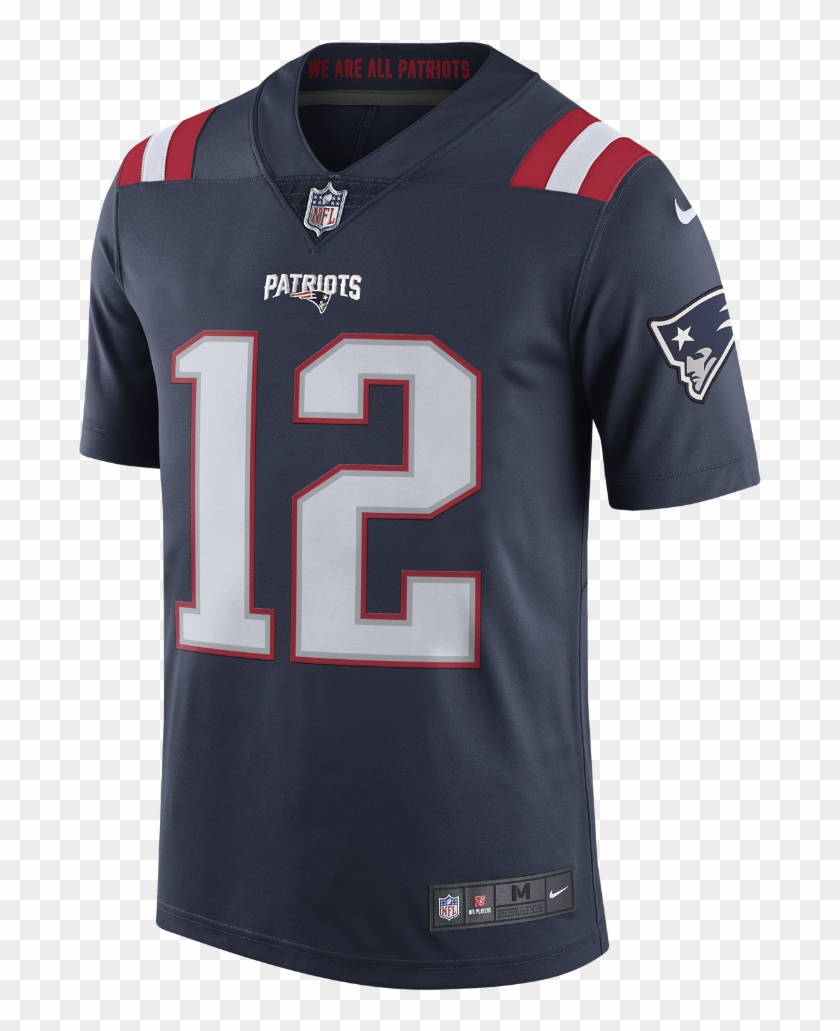 tom brady color rush jersey