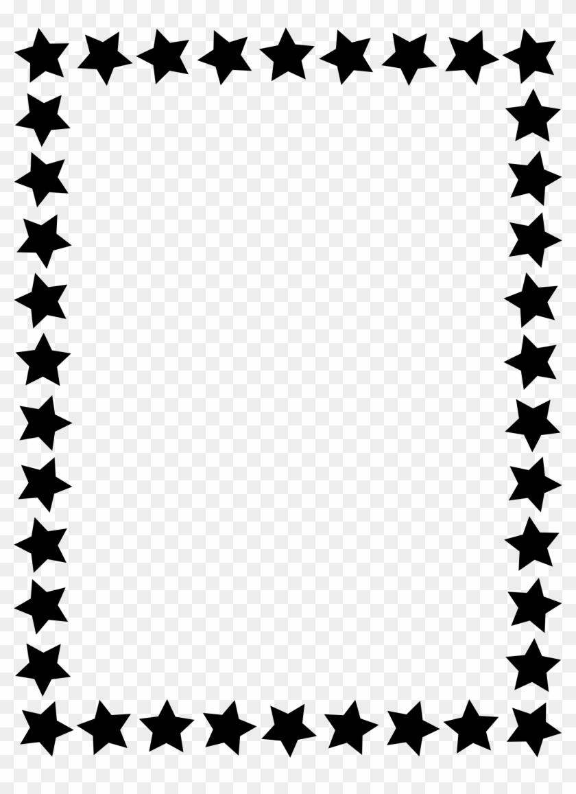 1804 X 2400 7 - Simple Black And White Border Clipart #1731103