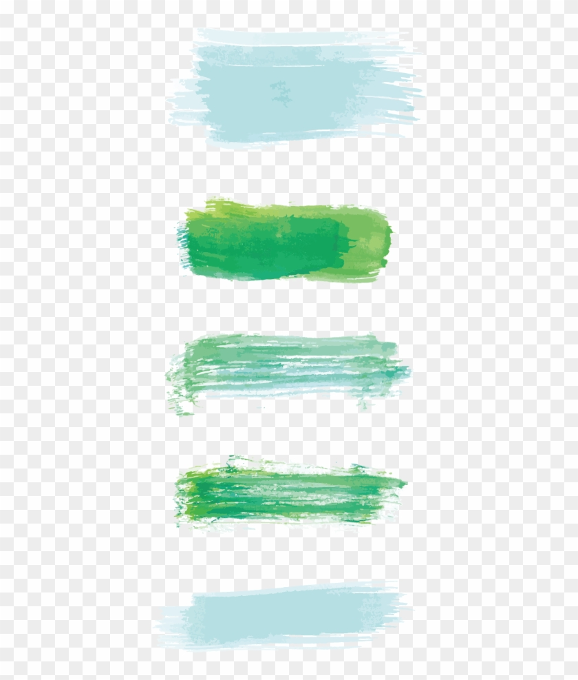 Colour Brush Stroke Png - Pastel Green Strokes Clipart@pikpng.com