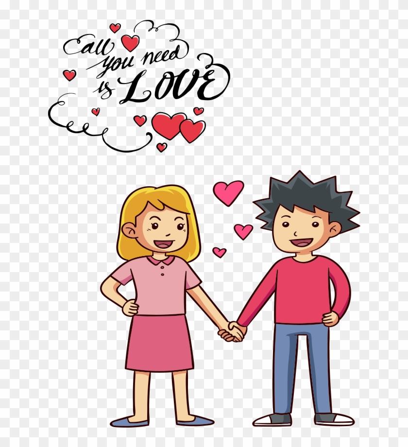Happy Valentines Day Png Image - Valentine Day 2 Line
