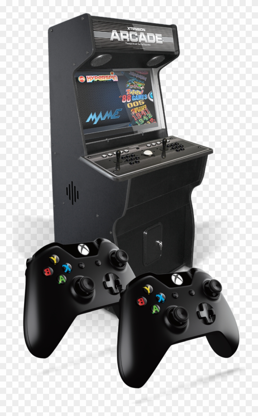 Game Media - Arcade Machine Xbox 360 And Ps3 Clipart #1742492