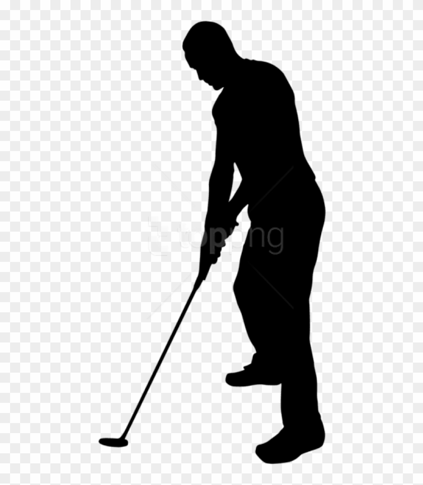 Free Png Golf Player Silhouette Png - Golf Player Silhouette Png Clipart #1749137