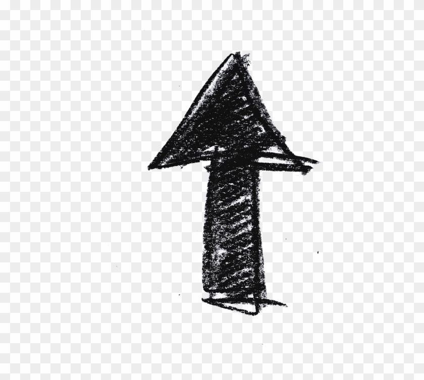 Arrow, Hand Labor, Turn, Straight, Direction - Arrow Illustration Clipart #1750870