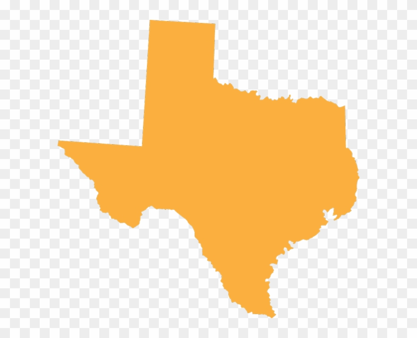 Texas State - San Marcos On Texas Map Clipart #1751997