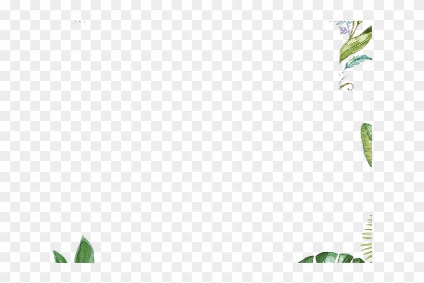 Drawn Leaves Leaf Border Png - Illustration Clipart #1756542