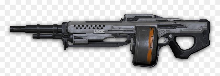 Machine Gun Png - Halo 5 Machine Gun Clipart #1758555