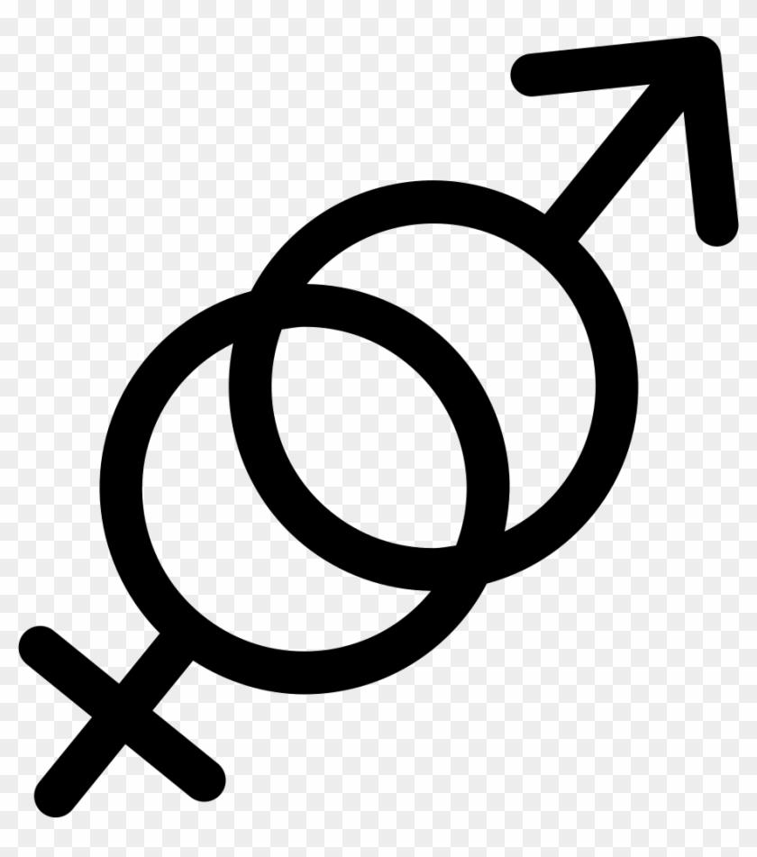 And Female Symbols Svg - Simbolos De Genero Png Clipart #1759090