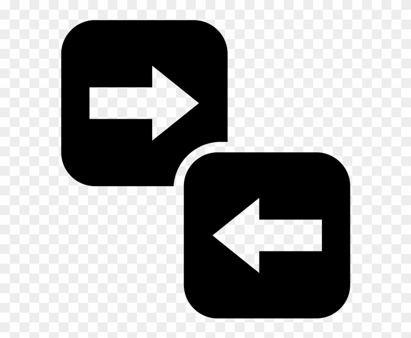 Arrow Png Transparent Icon - Directions Icon Clipart #1759606
