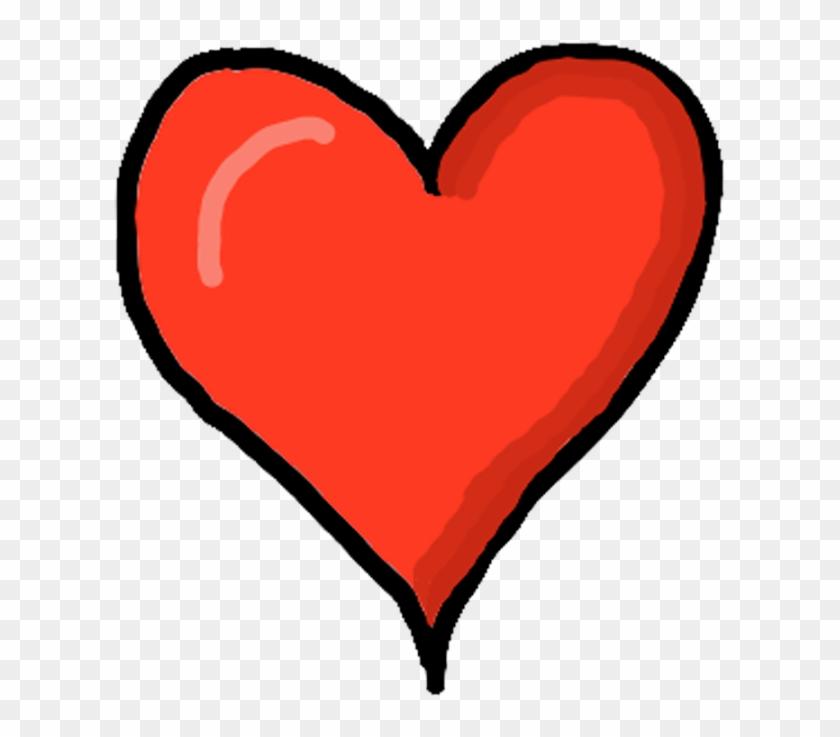 Heart Png Transparent Background - Cartoon Heart Clipart #1761958