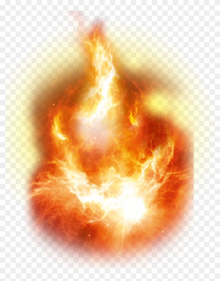 Explosions Transparent Space - Flame Clipart #1765620