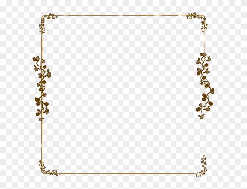 640 X 640 1 - Rose Gold Border Png Clipart #1765774