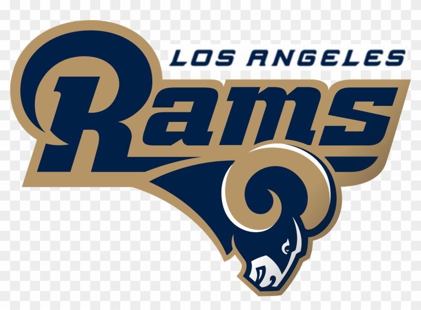 Los Angeles Rams-nfl - Los Angeles Rams Logo 2019 Clipart@pikpng.com