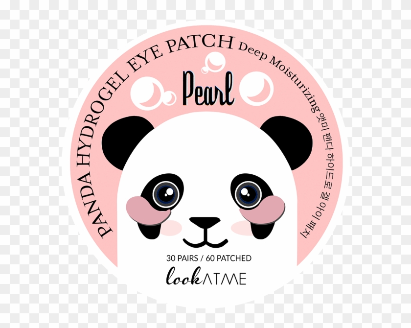 Look At Me Panda Hydrogel Eye Patch Clipart@pikpng.com