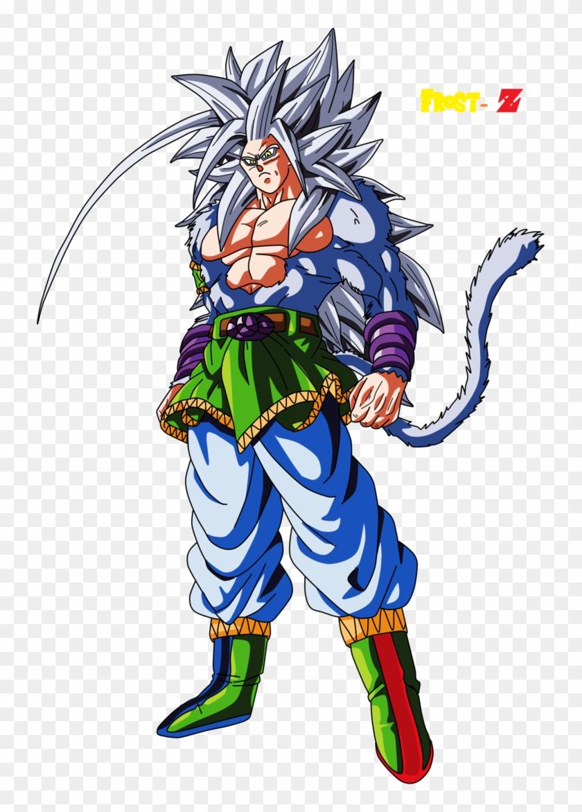 Goku Super Saiyan 5 By Frost Z D9swiom Son Goku Super Saiyan 5