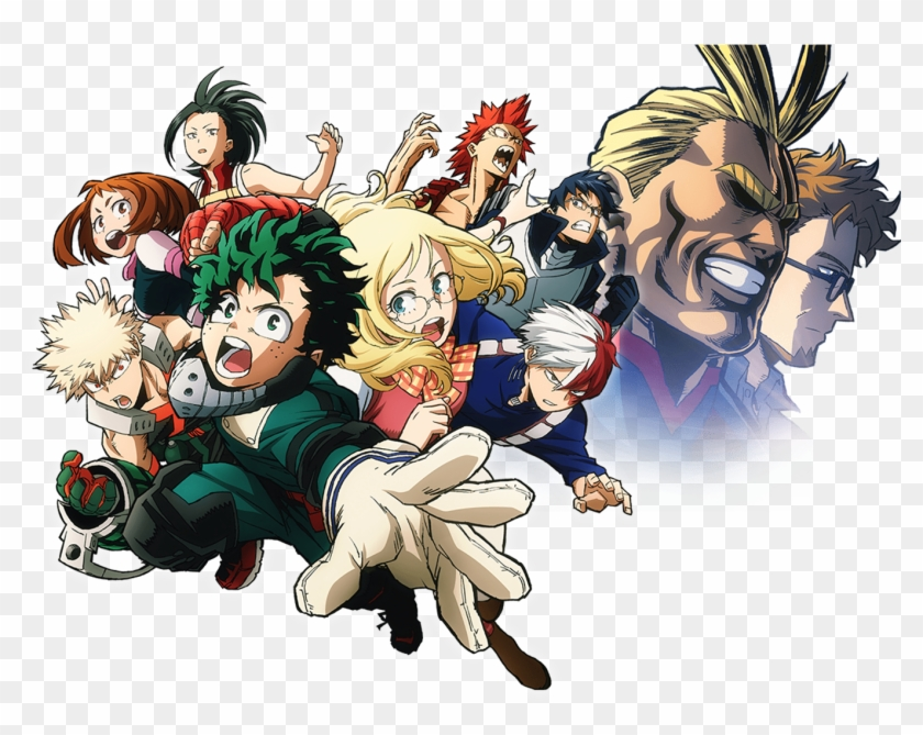 Wallpapers Id My Hero Academia Two Heroes Hd Png