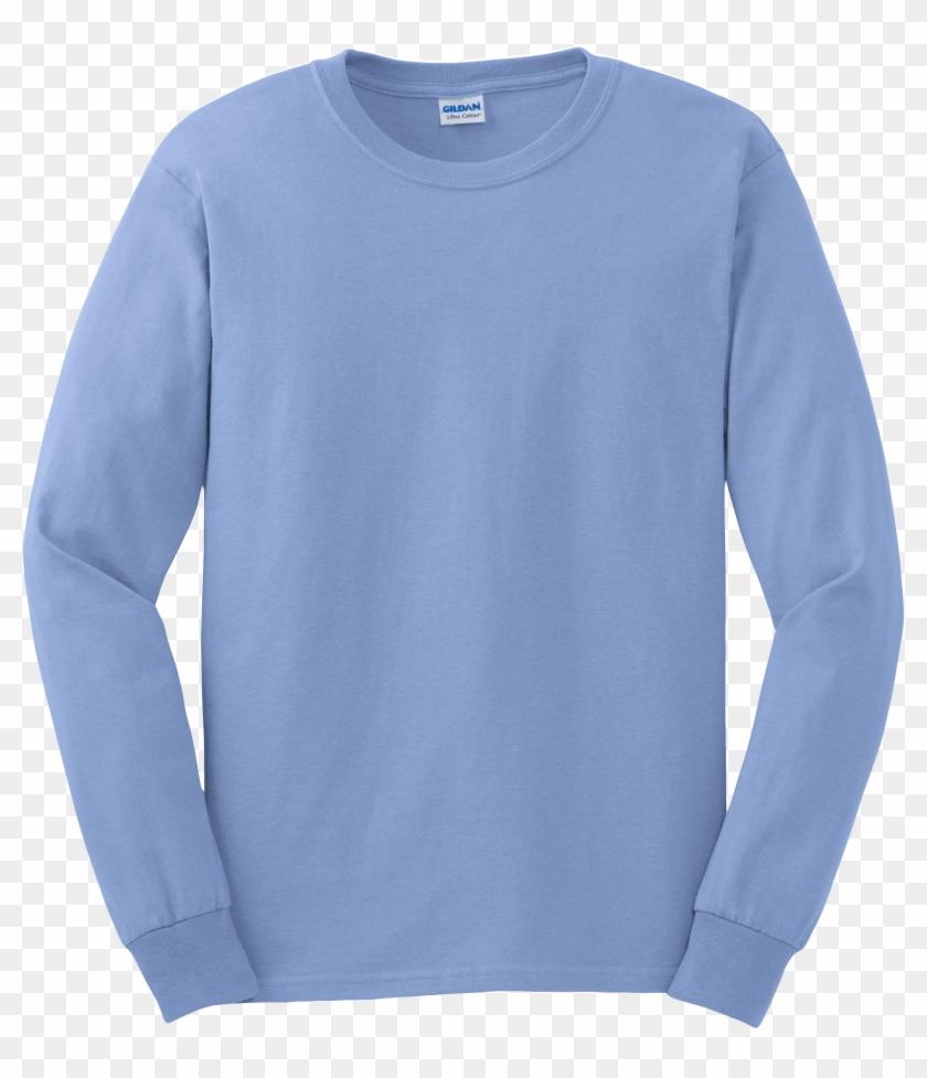 Gildan Long Sleeve T Shirt - Long Sleeve T Shirt Gildan Clipart #1786308