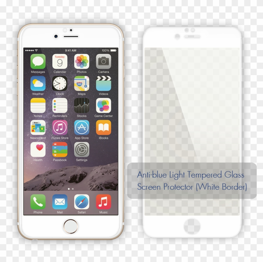 Anti Blue Light Tempered Glass Screen Protector Clipart #1786397
