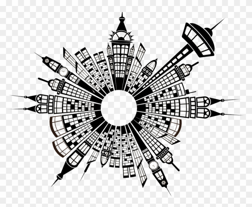 Building, City, Skyline, Ring, District, Arrangement - Lead
