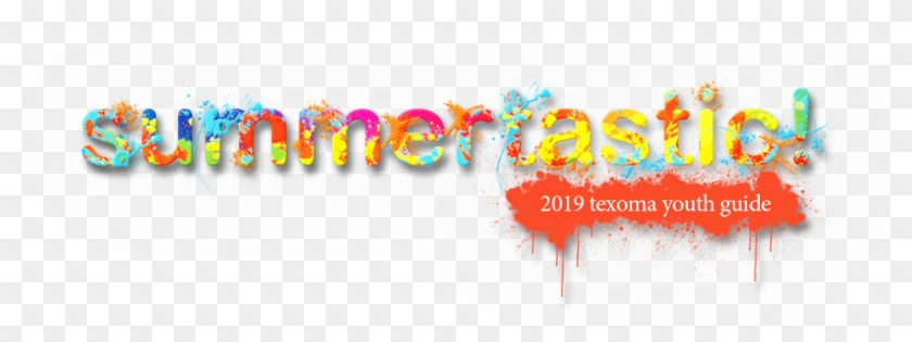 Summertastic Texoma Youth Activity Guide - Graphic Design Clipart #1789987