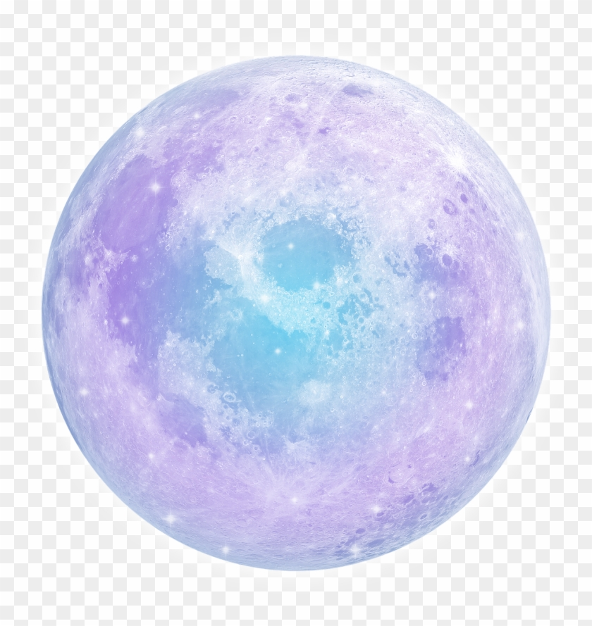 Pink Moon - Pastel Moon Transparent Clipart #1790724