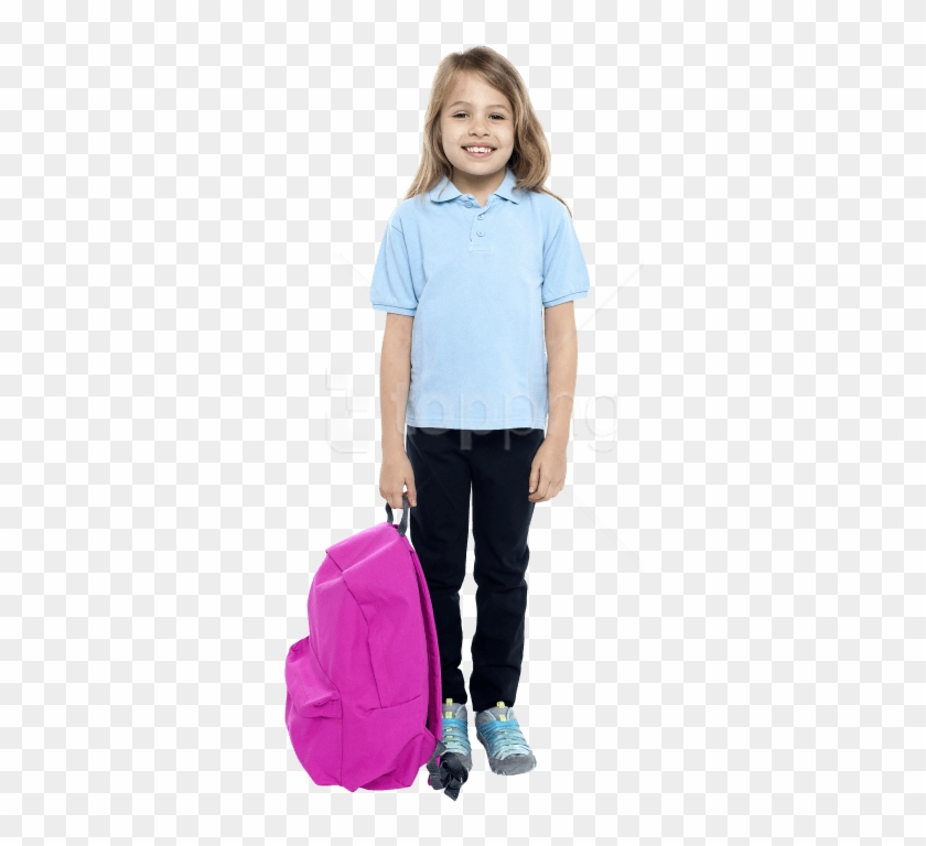 Download Young Girl Student Png Images Background - Young Student Png Clipart #1797053