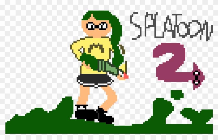 Splatoon 2 Pixels Arts Splatoon 2 Hd Png Download