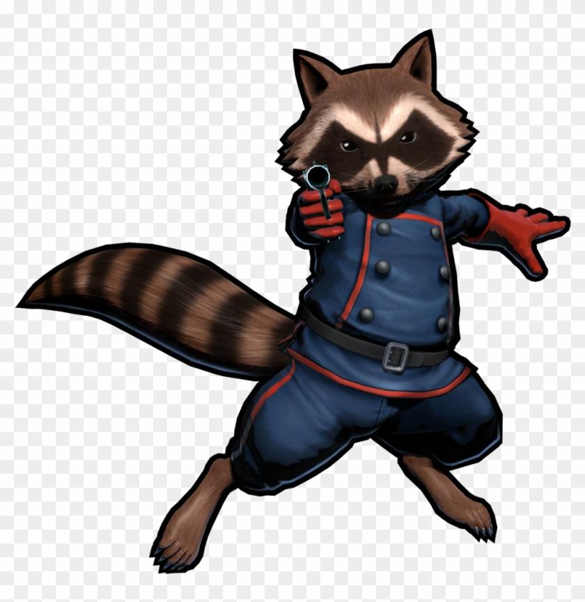Rocket Raccoon Png Photo - Rocket Raccoon Marvel Vs Capcom 3 Clipart #184599