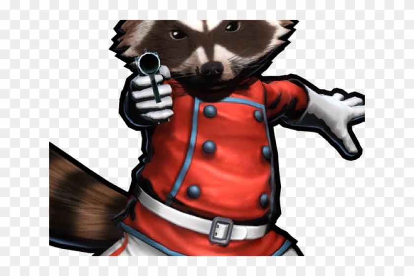Rocket Raccoon Clipart Transparent - Chris Pratt And Rocket Raccoon - Png Download #185069