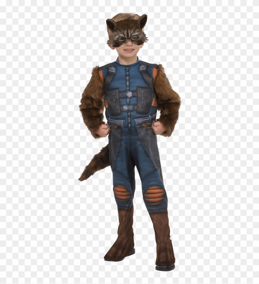 Toddler Rocket Raccoon Costume - Rocket Guardianes De La Galaxia Disfraz Clipart #185308