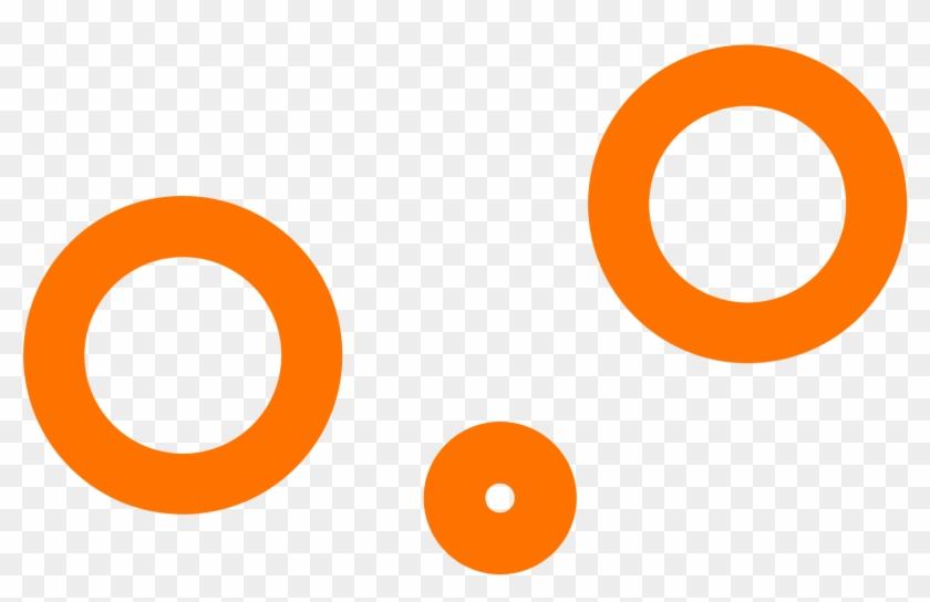 Orange Nose Day - Orange White Round Logo Clipart #186154