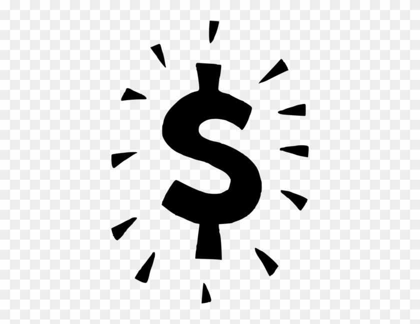 Black Dollar Sign Clip Art Money Sign Transparent Background